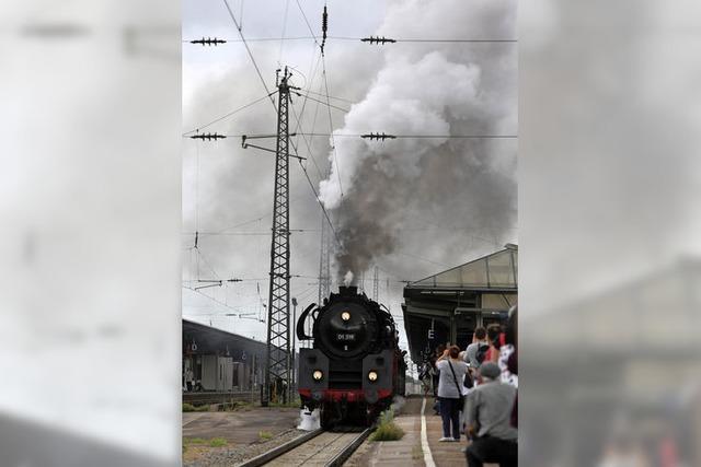 Mit viel Dampf ins Kinzigtal
