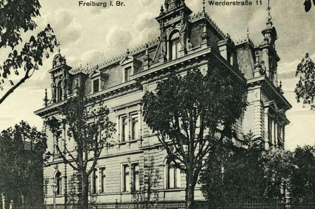 Die Stadtvilla von Gleichenstein hat ihren Charme bis heute bewahrt