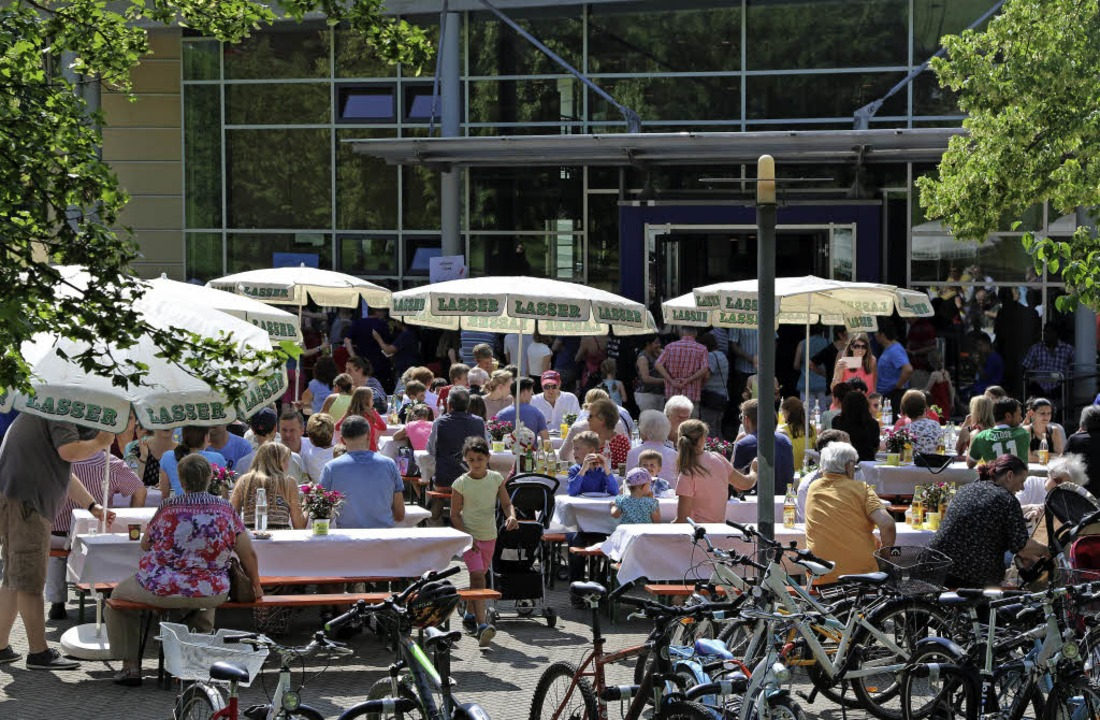 Schulfest an der Eichendorffschule.   | Foto: Katharina Bartsch