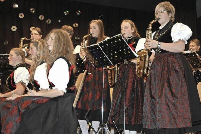 Musikverein Menzenschwand feiert Jubiläum