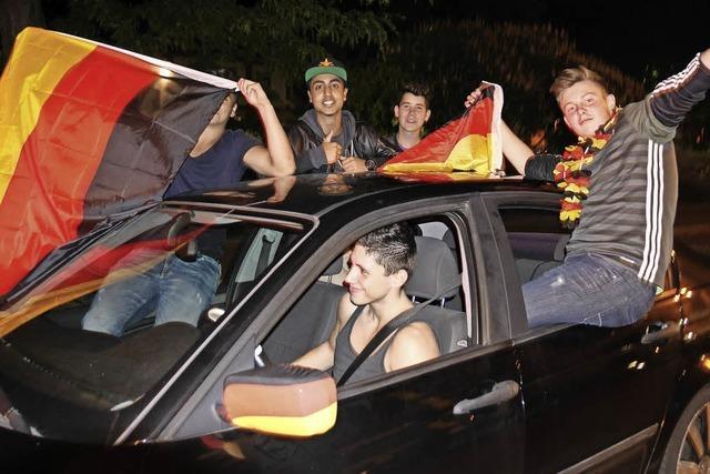 Unruhestifter trüben den Jubel nach dem Sieg über Italien