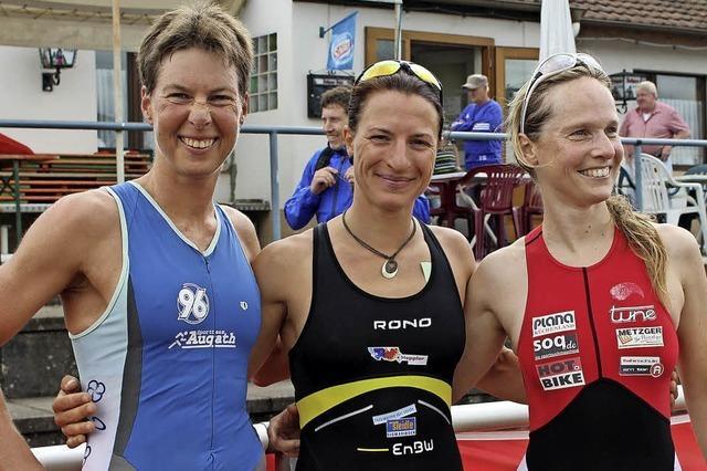 Rebecca Kaltenmeier lässt nur drei Männer vorbei