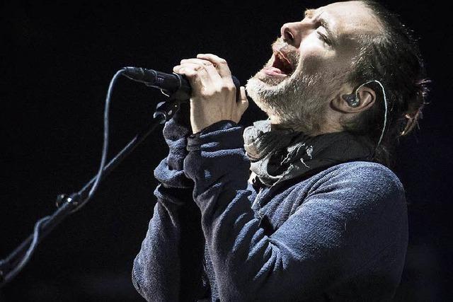 Radiohead überzeugen beim Open Air in St. Gallen