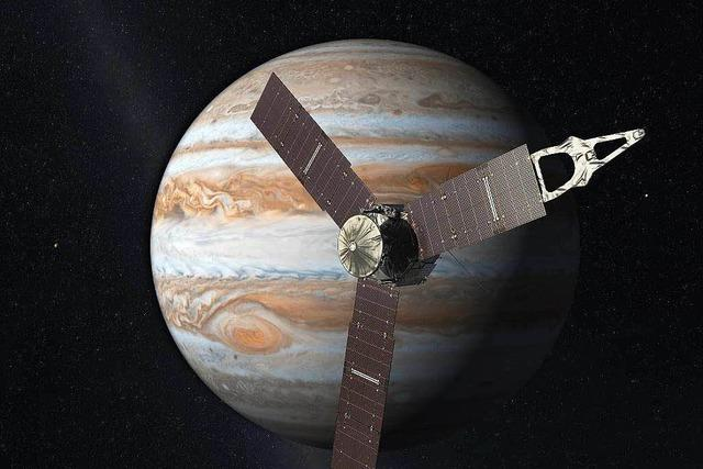 Raumsonde erreicht nach fünf Jahren den Jupiter