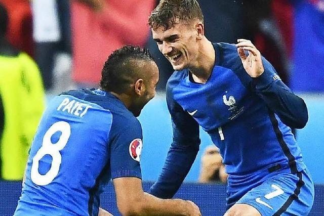 5:2 – Frankreich beendet Islands Fußballmärchen