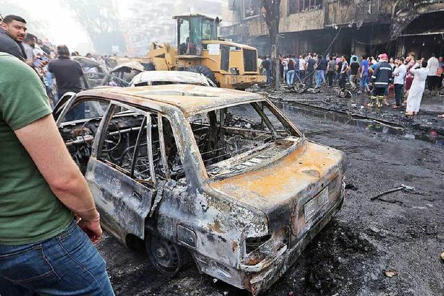 Terror in Bagdad: Zahl der Toten steigt auf mehr als 200