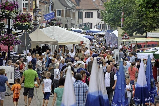 Große Besucherresonanz beim Boulevard Breisgau