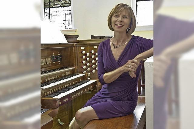 Orgel und Trompete erklingen in der Kirche Heilig Kreuz