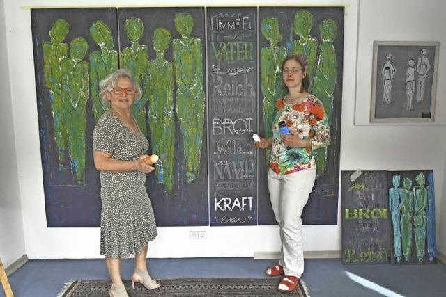 Christel Ikker und Marie-Luise Miassar in Malterdingen