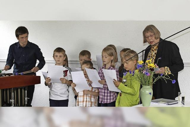Dorfschreiberin Monika Littau nimmt Abschied