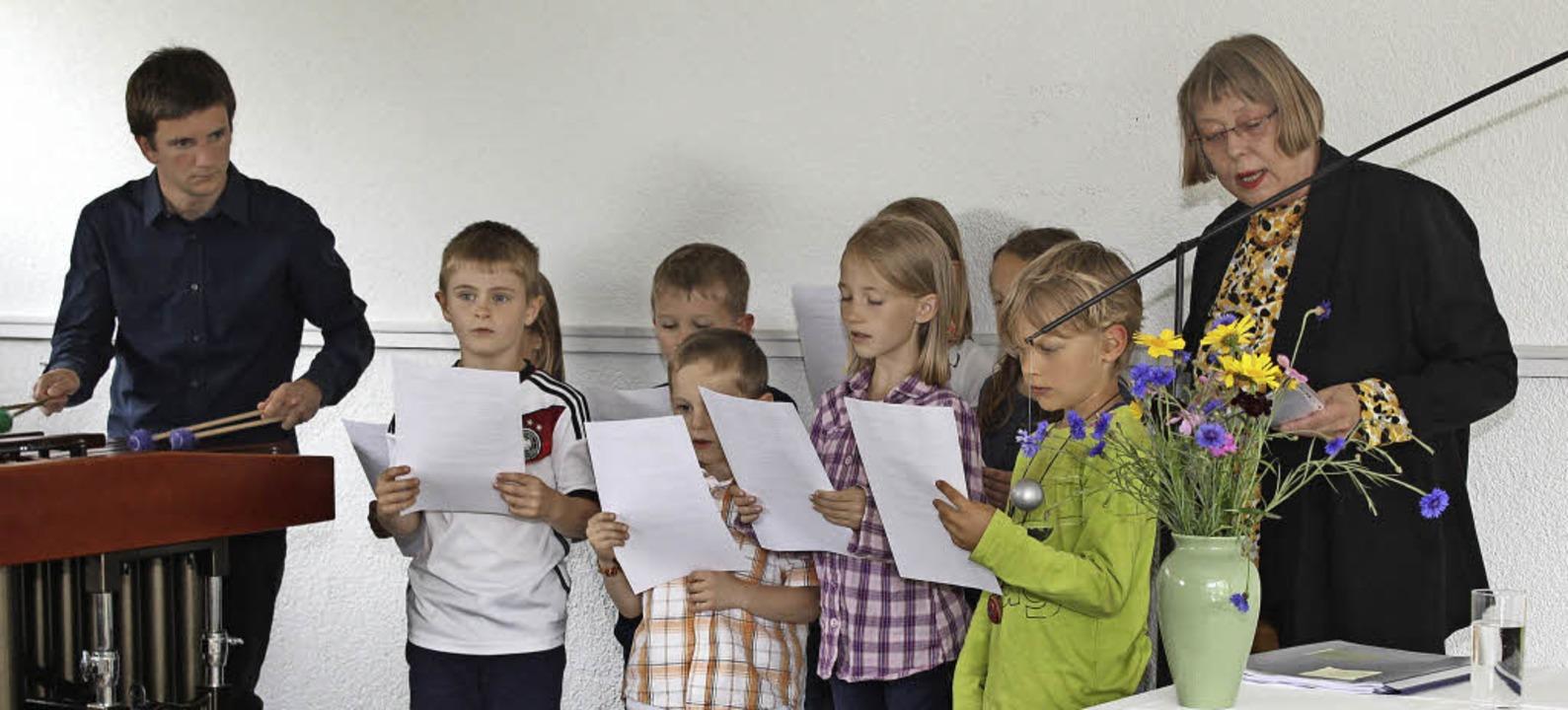 Monika Littau wurde als Dorschreiberin...erte sie die Ergebnisse ihrer Arbeit.   | Foto: Gert Brichta