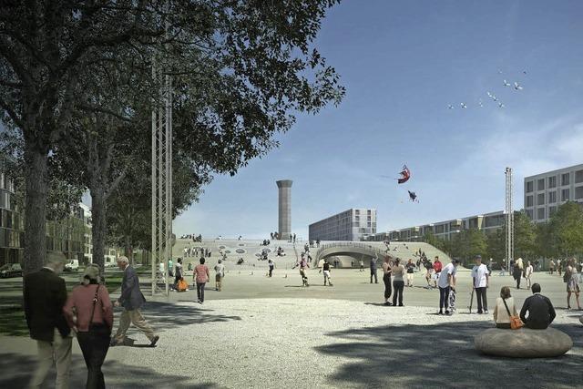 Platz im Basler Erlenmattquartier soll zum Magneten für Jugendliche und junge Erwachsene werden.