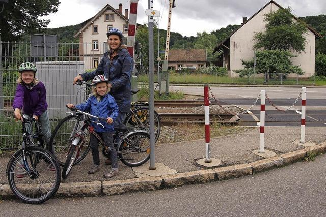 Für die Kinder neue Radwege suchen