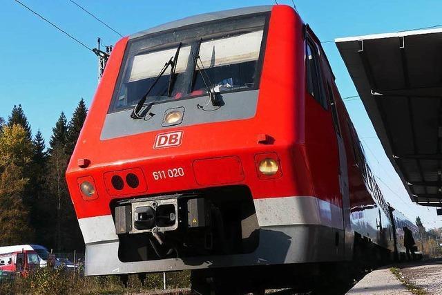 Bahnstrecke zwischen Titisee und Löffingen gesperrt – Busse übernehmen den Verkehr