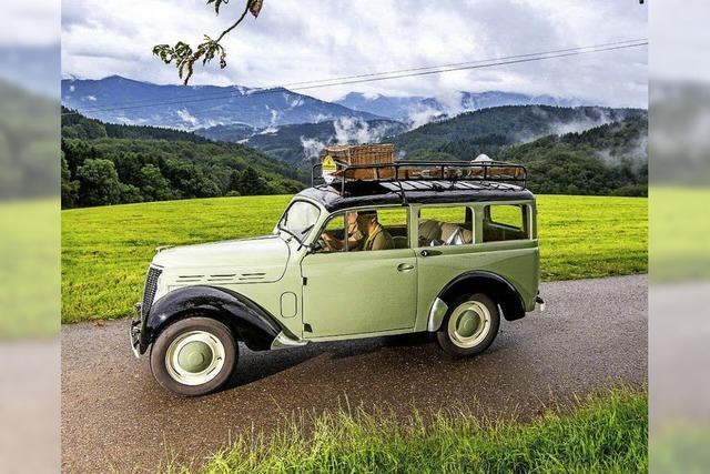 Oldtimerwandern im Schwarzwald