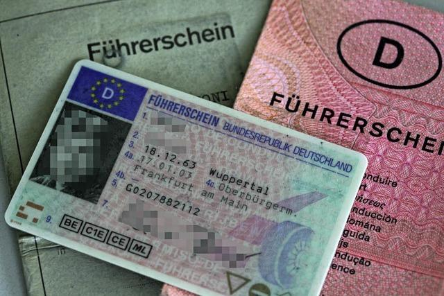 Künftig sollen alle Führerscheine nur noch 15 Jahre gültig sein