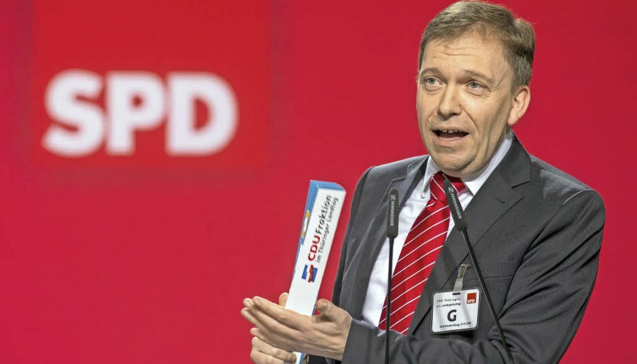 Matthias Hey,  Vorsitzender der SPD-Fraktion im Thüringer Landtag  | Foto: dpa