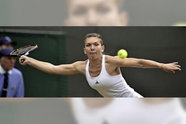 Angelique Kerber steht in Wimbledon im Viertelfinale