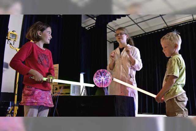 Science-Show an der Schule