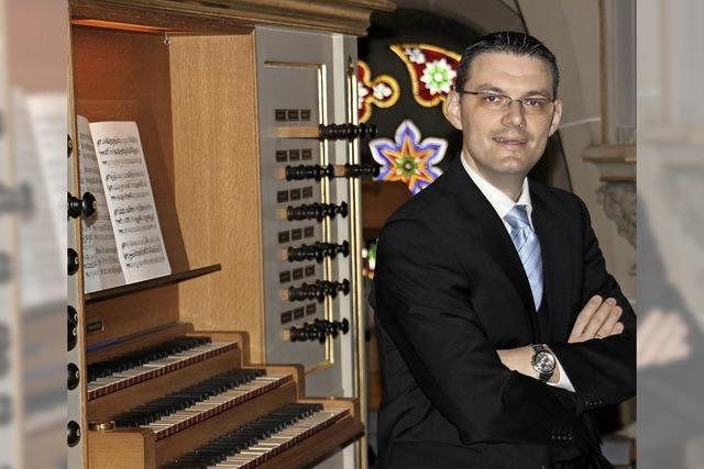 Orgelkonzert mit Stephan Kreutz in der katholischen Kirche in Hänner