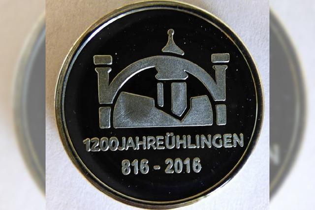 Eine Münze als Erinnerung ans Jubiläum