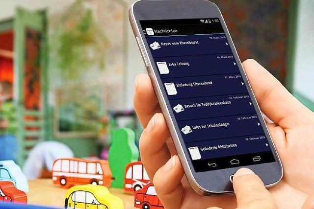 Katholische Kindergärten bieten Smartphone-App für Eltern an