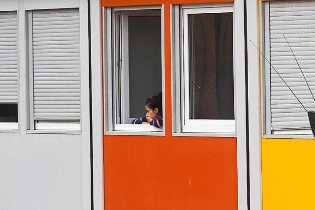 Landkreis: Container für Flüchtlinge sollen Auslaufmodell werden