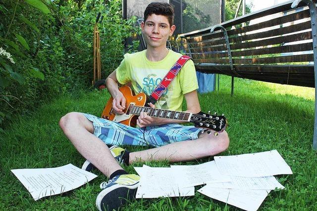 Panik-Preis: 16-Jähriger rockt vor Udo Lindenberg