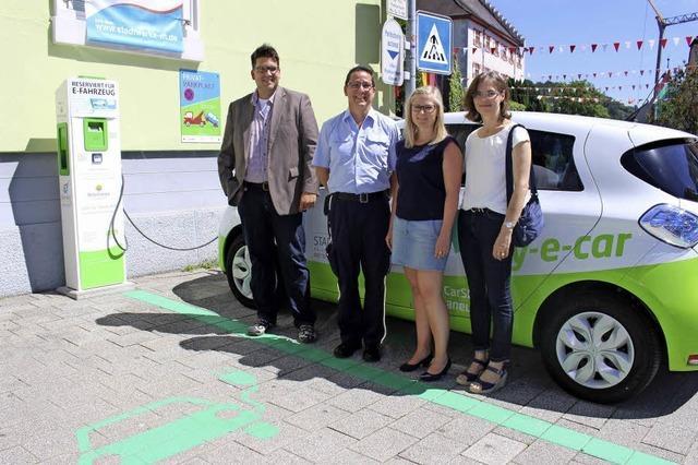 Nur 123 Elektroautos im Landkreis
