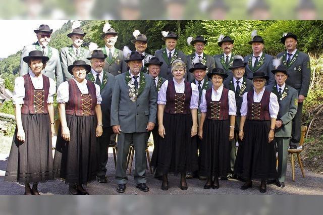 Schützenverein Zastler feiert Jubiläum