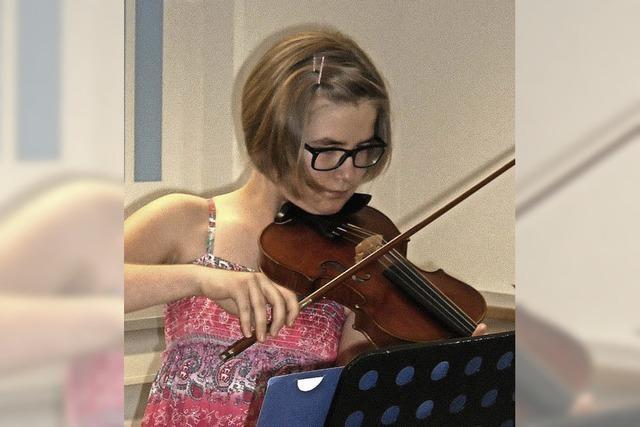 Junge Musiker mit reichlich Talent