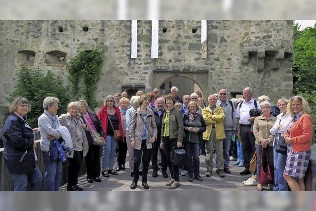 Heimatverein im Elsass auf Tour