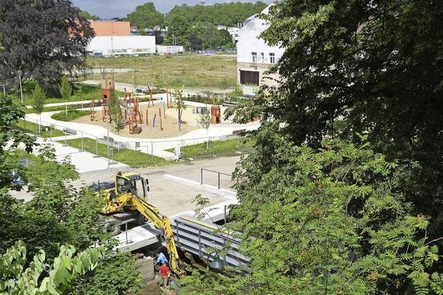 Lift vom Zwinger zum Vinzentiusgarten