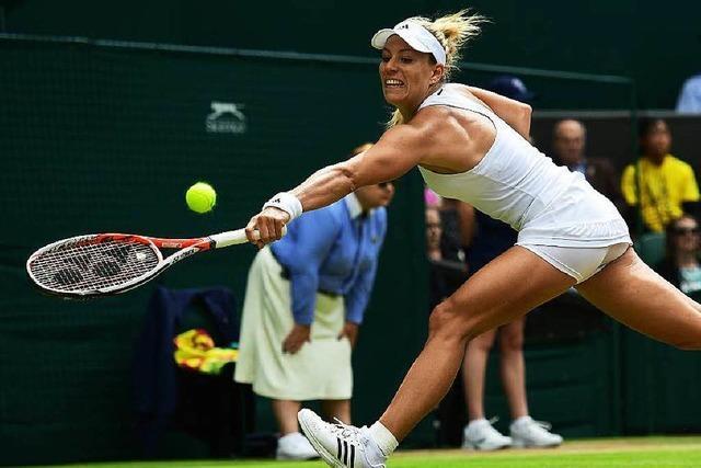 Kerber trifft im Halbfinale auf Venus Williams