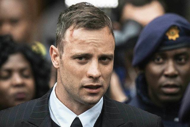 Pistorius zu sechs Jahren Haft verurteilt
