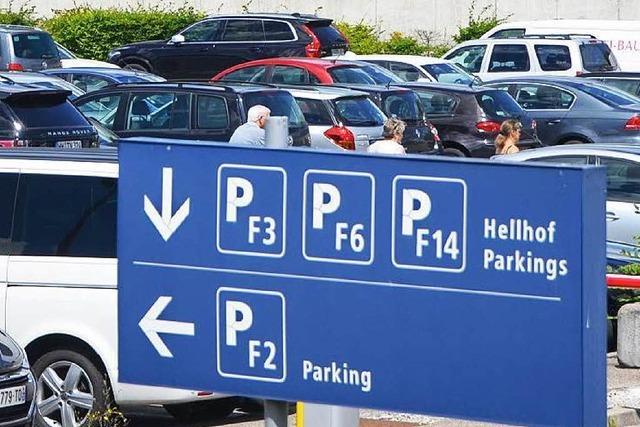 Am Euro-Airport entstehen 3200 neue Parkplätze