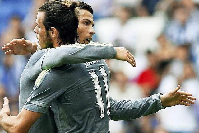 Gareth Bale und Cristiano Ronaldo treffen aufeinander