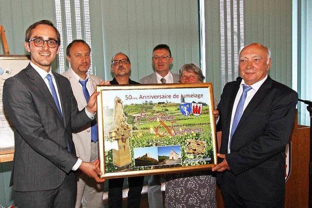 Burkheim und Sigolsheim feiern 50-jährige Partnerschaft