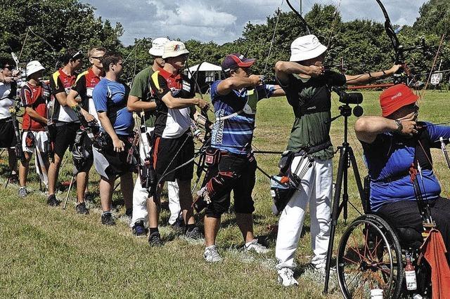 Top-Schützen am Start