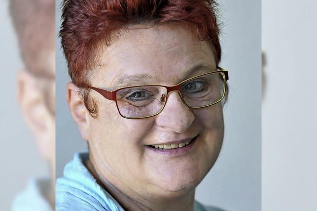 BZ-Fragebogen, ausgefüllt von Petra Zimmermann, Waltershofens Ortsvorsteherin