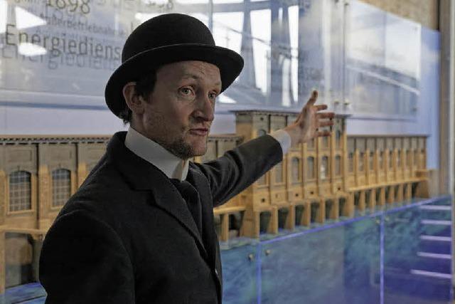 Mit Emil Rathenau durch die Historie des Wasserkraftwerks