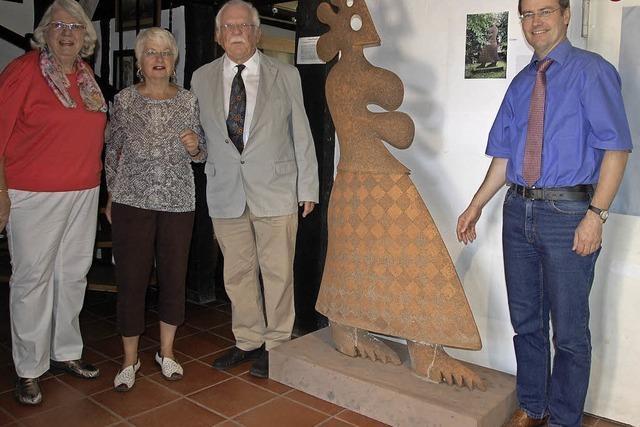 Neuer Blickfang im Keramikmuseum