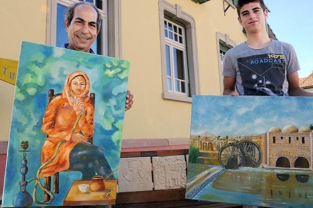 Erinnerungsbilder aus der syrischen Heimat