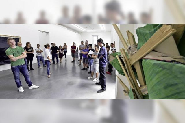 Ein Besuch im Kunstraum der Max-Weber-Schule