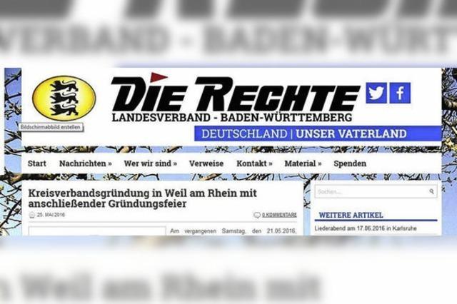Staatsschutz ermittelt gegen rechte Szene in Friedlingen