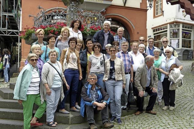 Chor-Ausflug nach Trier