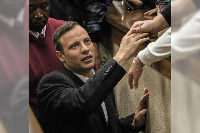 Milde Strafe für Pistorius