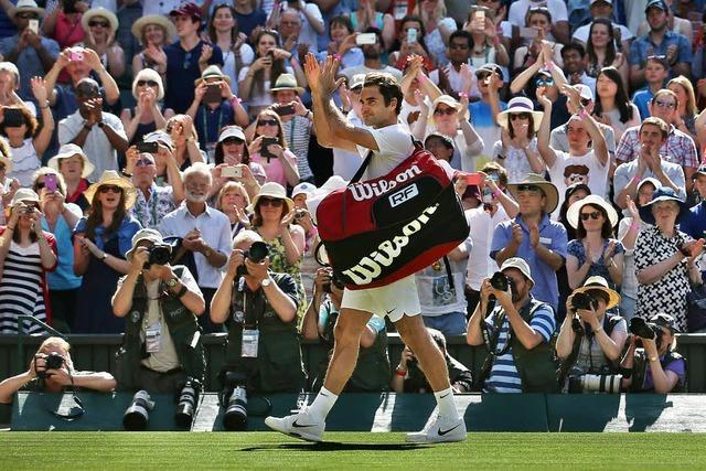 Kraftakt bringt Roger Federer ins Semifinale