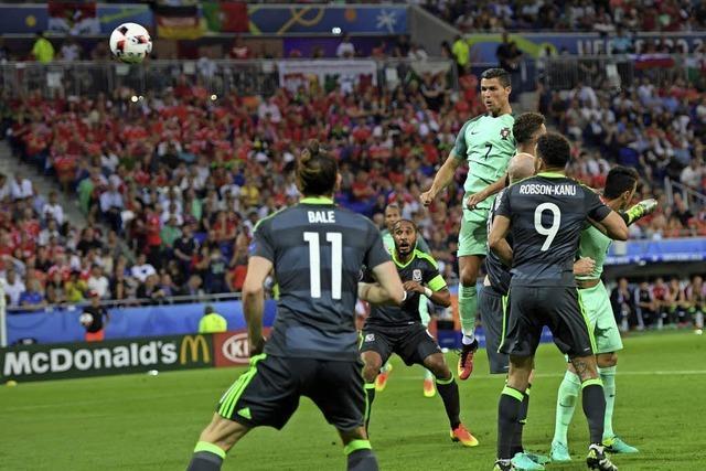 Portugal erster Endspiel-Teilnehmer