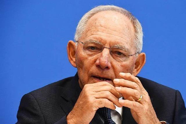 Wie Schäuble ein Brexit-Desaster abwenden will